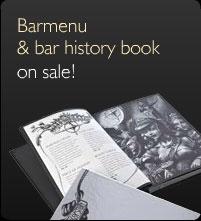 Barmenu & bar history book on sale!