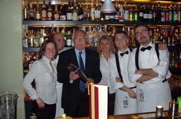 2005 Prezident ČR Václav Klaus v Bugsy's baru