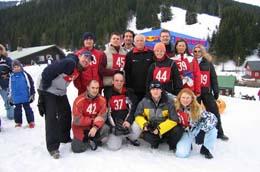 2005 S panem prezidentem na lyžích