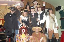 2006 Silvestr Klobouková párty