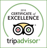 Certificate of Excellence 2016 Winner TripAdvisor Bugsy's Bar