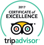 Certificate of Excellence 2017 Winner TripAdvisor Bugsy's Bar