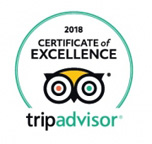Certificate of Excellence 2018 Winner TripAdvisor Bugsy's Bar