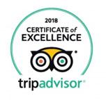Certificate of Excellence 2018 Winner TripAdvisor Bugsy's Bar